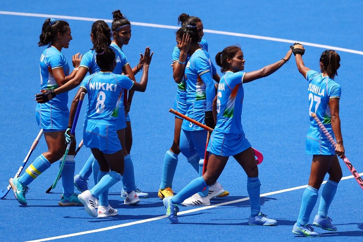 India women Hockey-Team-at-Olympic
