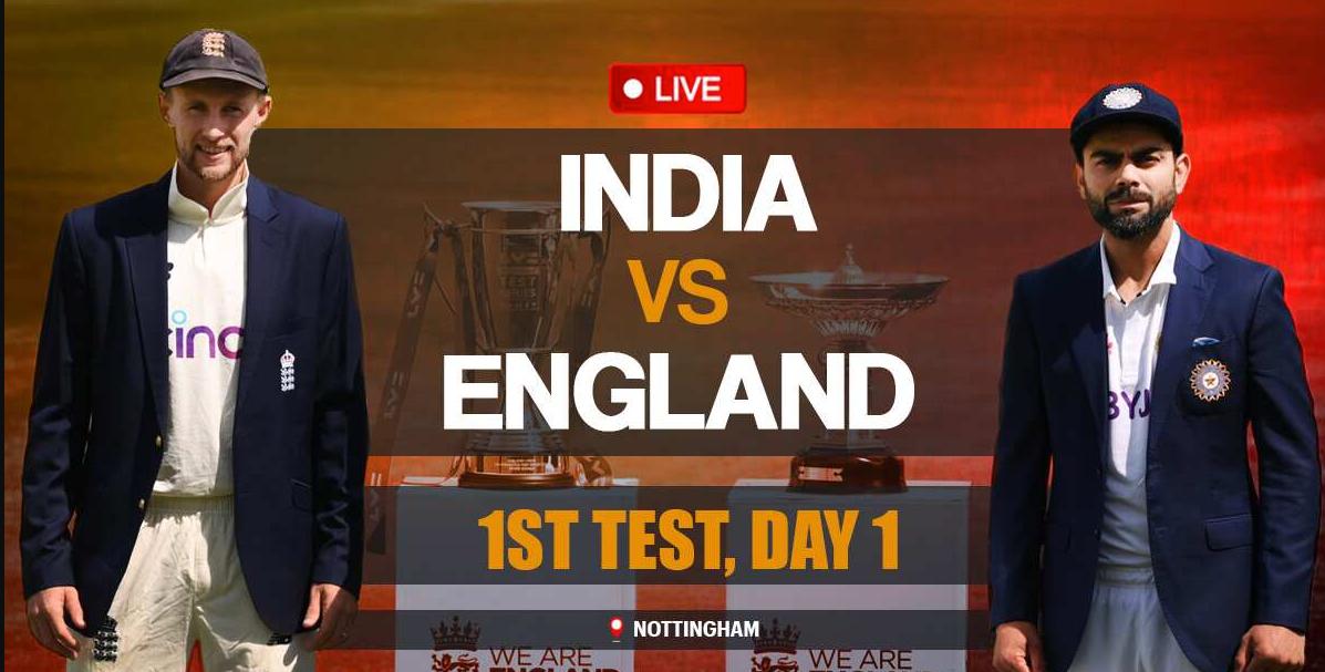 England vs India 1st Test match updates